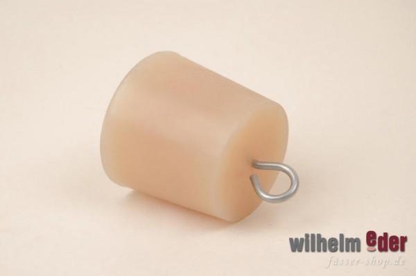 Bonde en silicone avec crochet