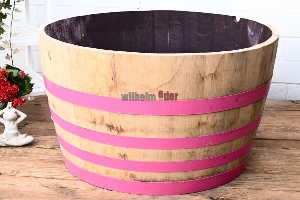 Bac à fleurs - 1/2 fût vin rouge - Think Pink