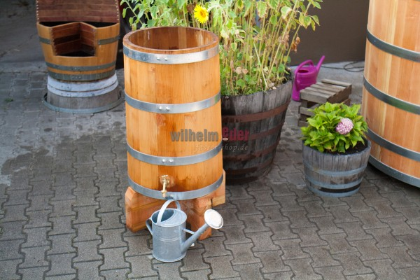 Collecteur de pluie - douglas - cylindrique env. 200 l