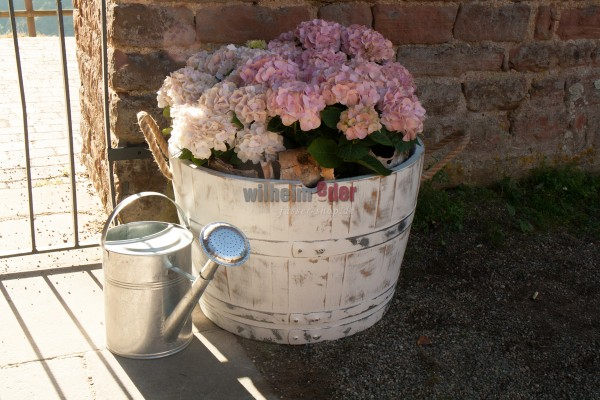 Bac à fleurs – White Vintage