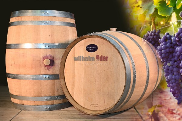 Fût de vin rouge Baden 225 l - millésime 2014 - 2016