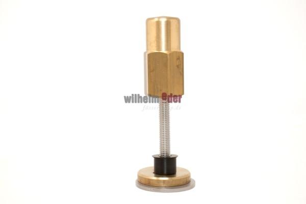 Vis à canon en acier inoxydable - Support pour plaque de verre