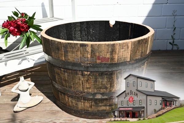 Bac à fleurs - 1/2 fût de Bourbon - Jim Beam