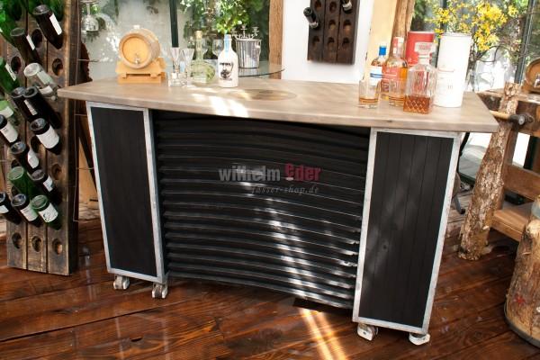 Comptoir d'exposition mobile - comptoir de bar