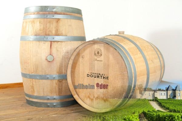 Fût de vin rouge 225 l - millésime 2017 Cave Dourthe