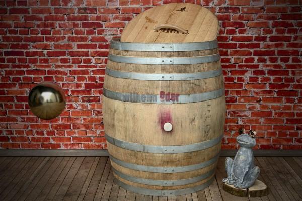 Baril de pluie 500 l - vine rouge