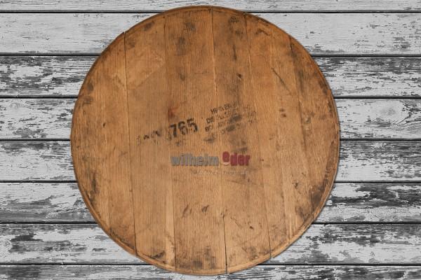Couvercle de fût utilisé - fût de bourbon