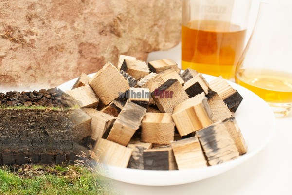Cubes de Whisky - peated
