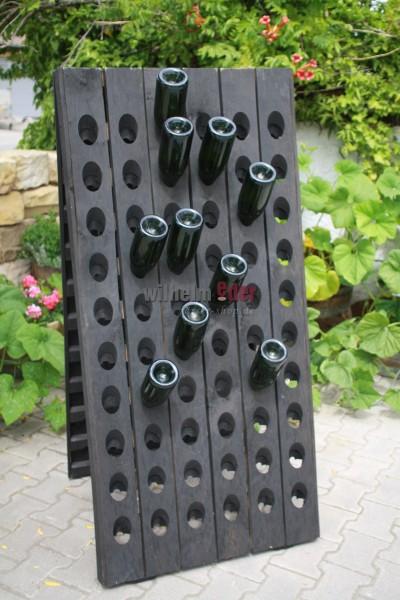 Pupitre de remuage, 120 bouteilles - noir