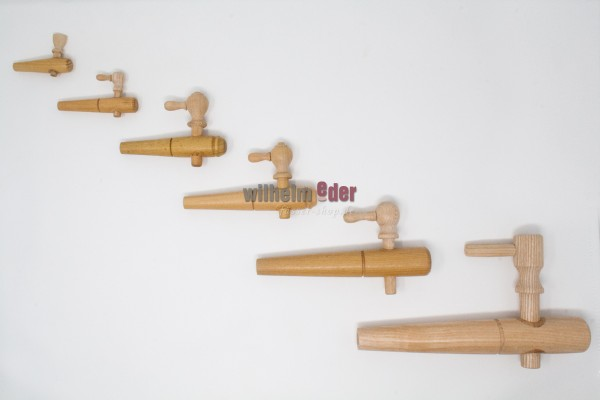 Robinet de soutirage en bois