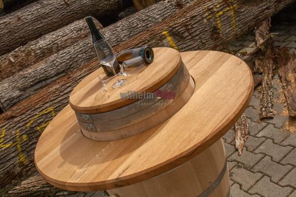 Panneau de chêne encastré - bordure extérieure du tambour