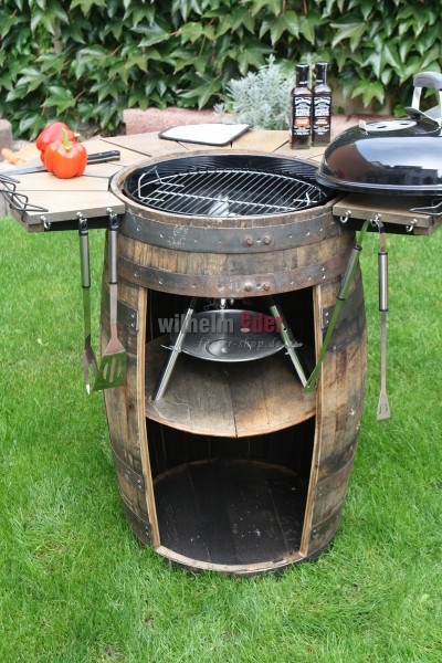FassStolz® tonneau barbecue