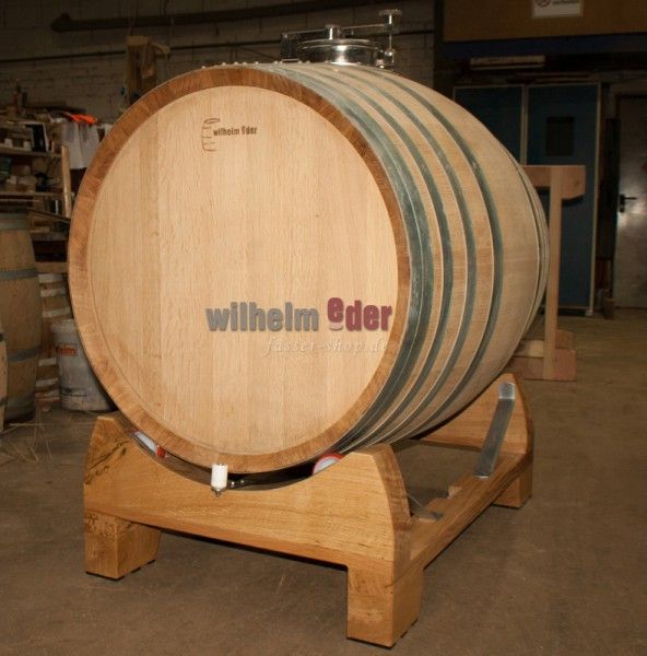 Cuve de fermentation rotative 600 l