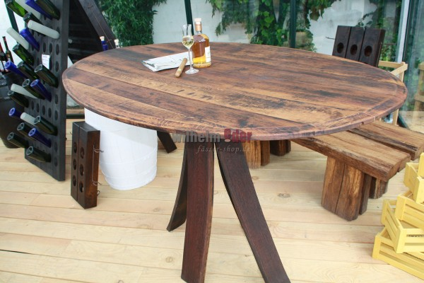 FassStolz® Table haute ovale