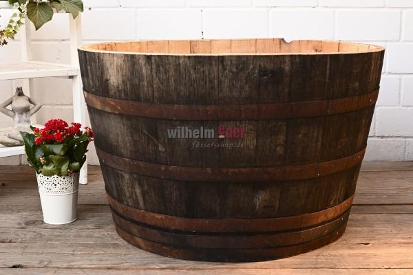 Bac à fleurs - 1/2 300 – 350 l Fût d'eau-de-vie