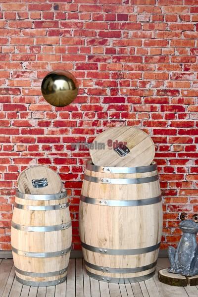 Baril de pluie fabriqué de bois de marronnier 50 l - 150 l