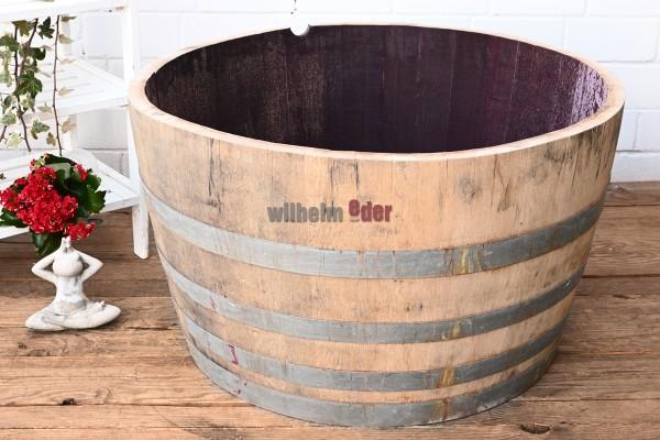 Bac à fleurs - 1/2 fût vin rouge