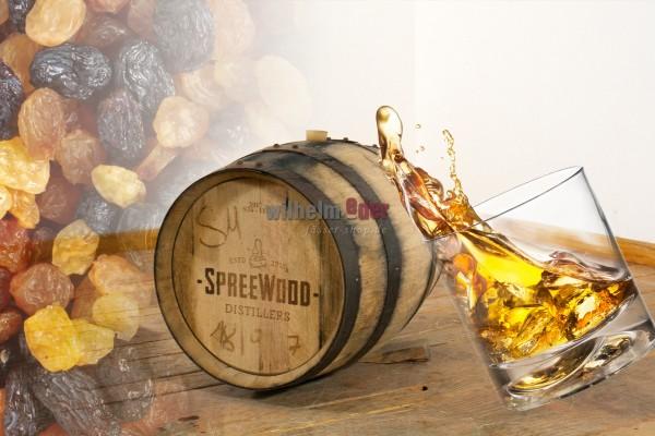 Fût de whisky 40 l ex sherry déconstruction