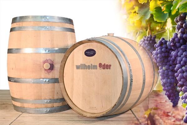 Tonneau décoratif 225 l - tonneau à vin rouge de Baden