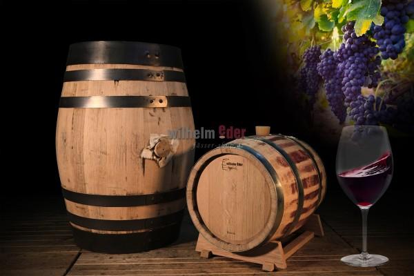 Fût de vin rouge 20 l - 100 l - conversion