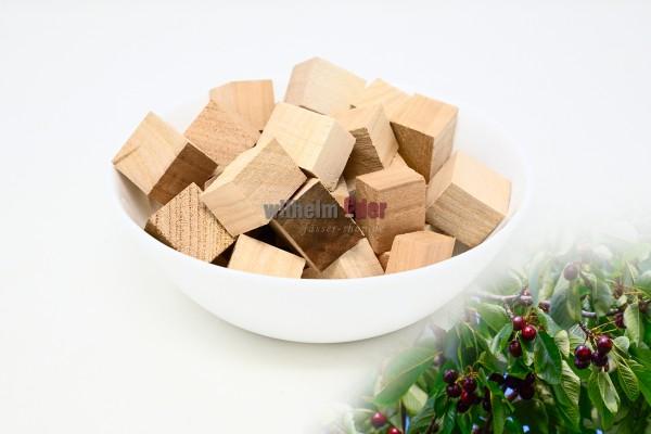 Cubes en bois de merisier