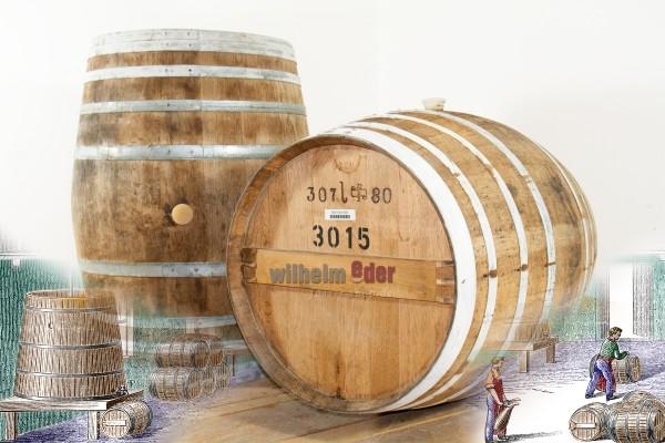 Fût de brandy 300 l - 350 l - Allemagne