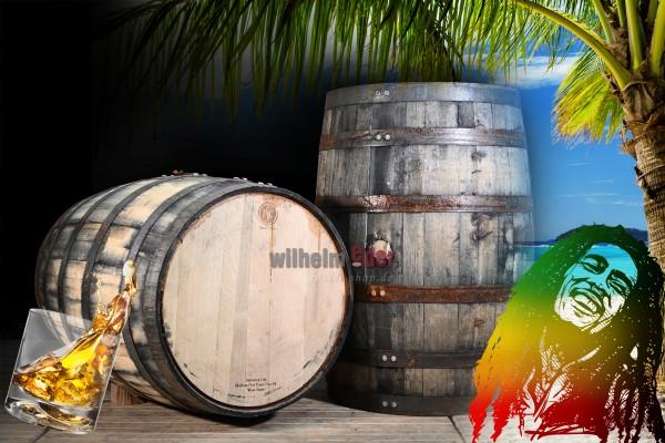 Tonneau à bourbon 190 l Rhum - Jamaika